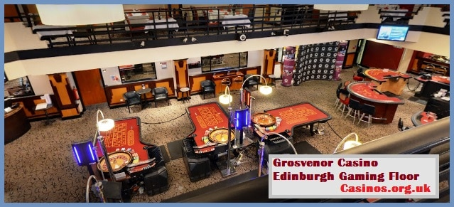 Grosvenor Casino Edinburgh Gaming Floor