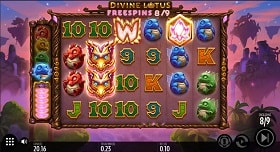 Divine Lotus Online Slot Machine - Free Play & Review 1
