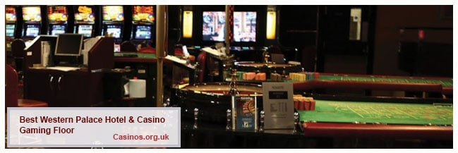 Best Western Palace Hotel and Casino Isle Of Man Gaming Floor