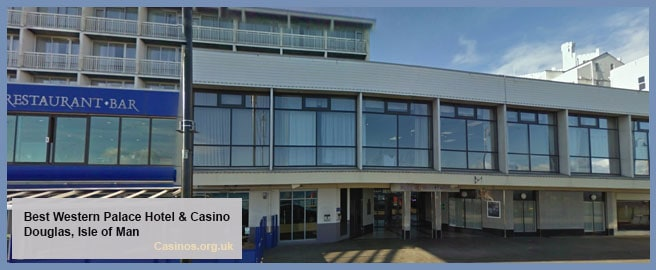 Best Western Palace Hotel and Casino Isle Of Man Outdoor View