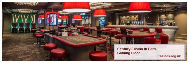 Century Casino, Saw CI, Bath, Gaming Floor