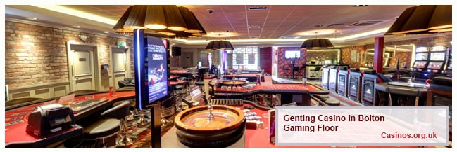 Genting Casino Bolton - Gaming Floor