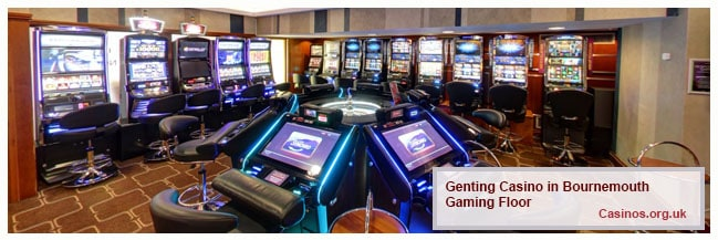 Genting Casino Yelverton Rd Gaming Floor