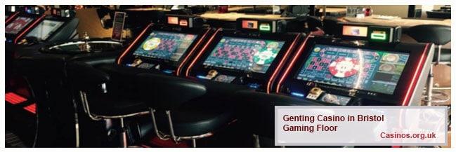 Genting Casino Bristol, Gaming Floor