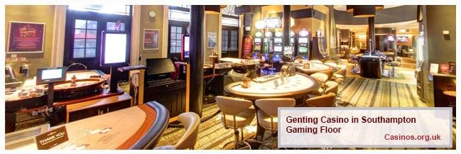 Genting Casino Southampton Gaming Floor