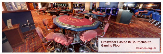 Grosvenor Casino Bournemouth Gaming Floor