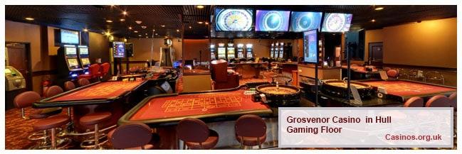 Grosvenor Casino Hull Caming Floor