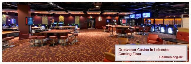 Grosvenor Casino Leicester Gaming Floor