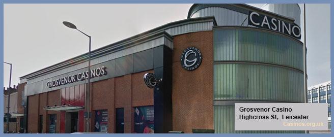 Grosvenor Casino in Leicester Outdoor View