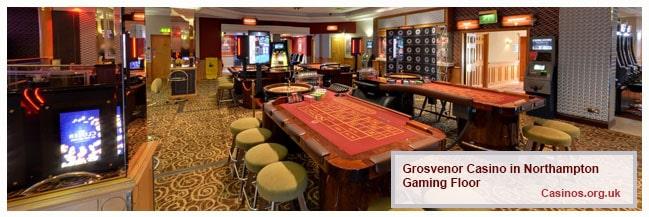 Grosvenor Casino Northampton Gaming Floor