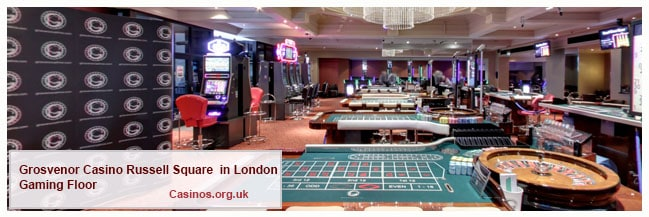Grosvenor Casino Russell Square London Gaming Floor