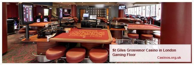 Grosvenor Casino St Giles Casino London Gaming Floor