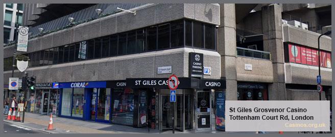 Grosvenor Casino St Giles Casino London Outdoor Review
