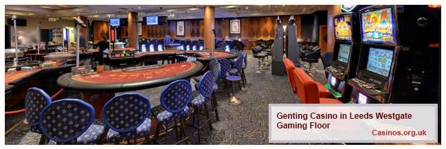 Grosvery Casino Leeds Westgate Gaming Floor