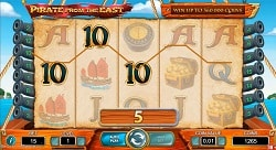 Pirate From The East Online Slot Machine - Free Play & Review 1