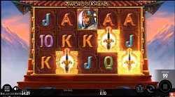 Sword of Khans Online Slot Machine - Free Play & Review 1