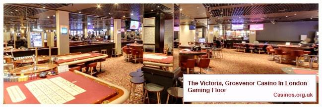 The Victoria, Grosvenor Casino In London  Gaming Floor