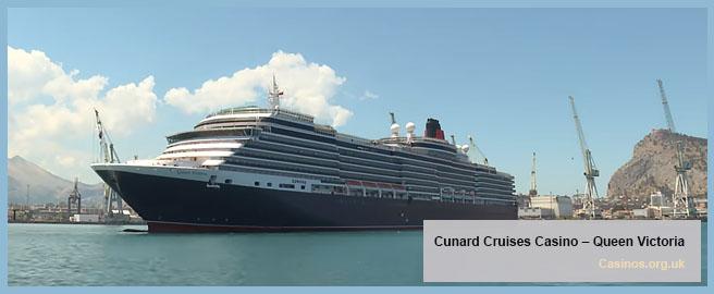Cunard Cruises Queen Victoria, Casino Outdoor View