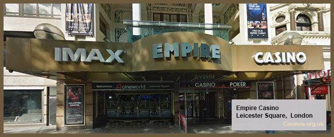 Empire Casino in London Outdoor View