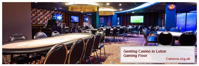 Genting Casino in Gaming Floor