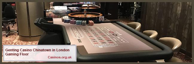 Genting Casino Chinatown in London Gaming Floor