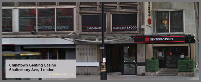 Genting Casino Chinatown in London Outdoor View
