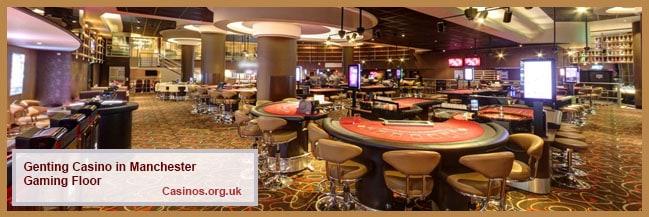 Genting Casino in Manchester Gaming Floor