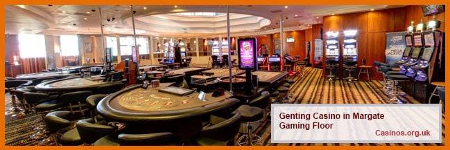Genting Casino in Margate Gaming Floor