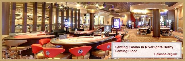 Genting Casino in Riverlights Derby Gaming Floor