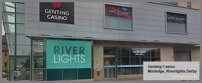 Genting Casino in Riverlights Derby Outdoor View