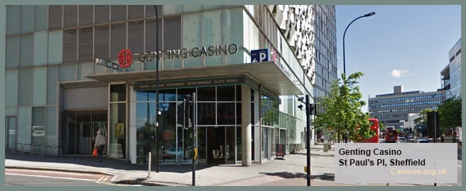 Genting Casino in Sheffield Outdoor View
