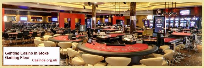 Genting Casino in Stoke Gaming Floor