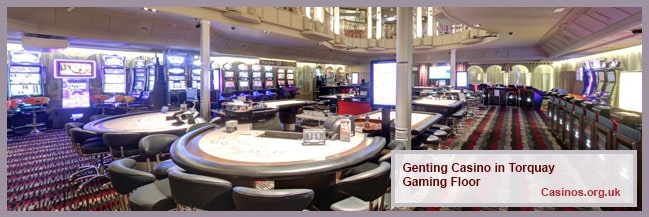 Genting Casino in Torquay Gaming Floor