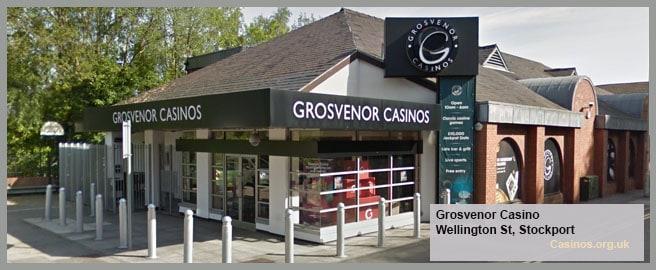 Grosvenor Casino in Stockport Outdoor View