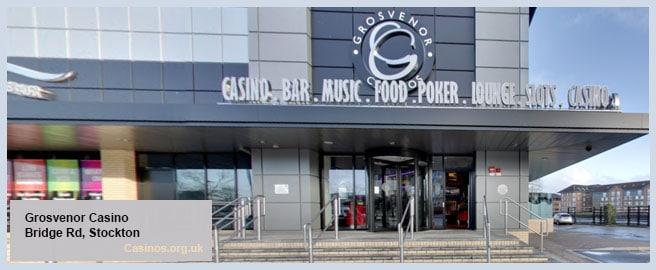 Grosvenor Casino in Stockton Outdoor View