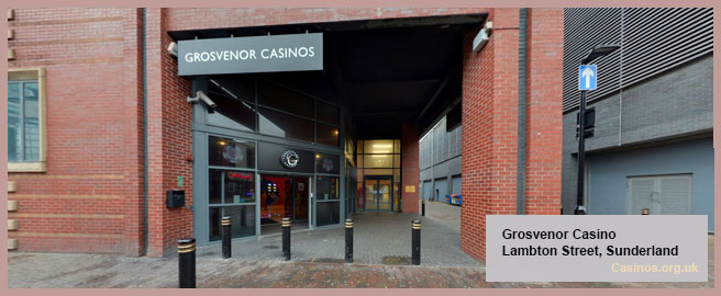 Grosvenor Casino in Sunderland Outdoor View