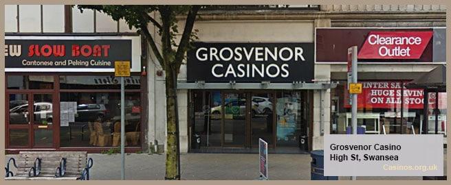 Grosvenor Casino in Swansea Outdoor View