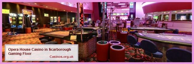 Opera House Casino in Scarborough Gaming Floor