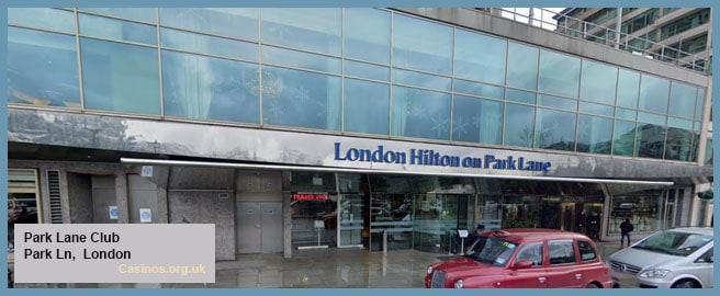 Park Lane Club London Outdoor View