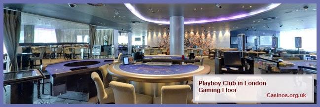Playboy Club in London Gaming Floor