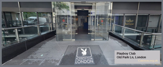 Playboy Club in London Outdoor View