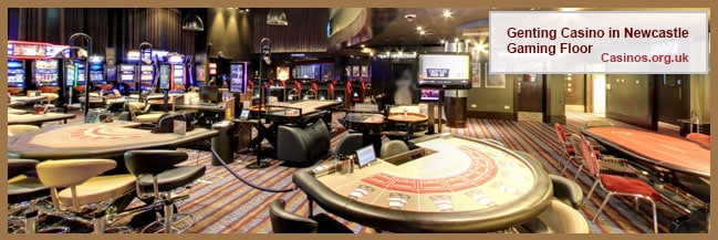Genting Casino in Newcastle Gaming Floor