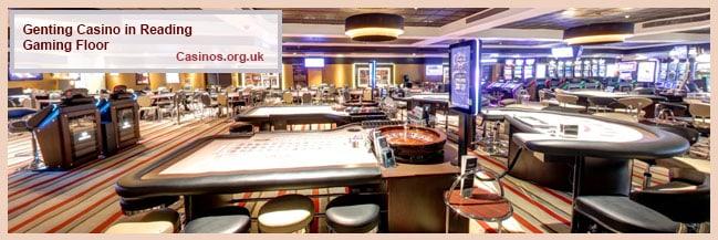 Genting Casino di Reading Gaming Floor