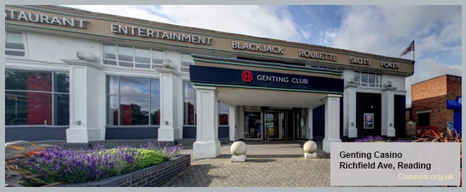 Genting Casino in Reading Outdoor View