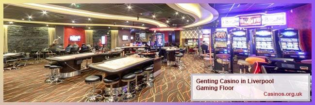 Genting Casino Renshaw Street in Liverpool Gaming Floor
