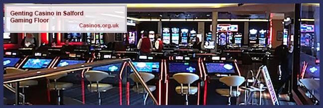 Kasino Genting di Lantai Gaming Salford