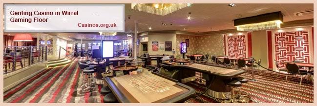 Kasino Genting di Lantai Gaming Wirral