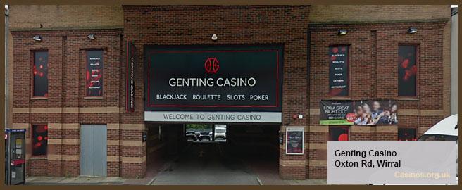 Kasino Genting dalam Pemandangan Luar Ruangan Wirral