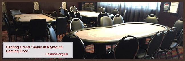 Genting Grand Casino di Plymouth Gaming Floor