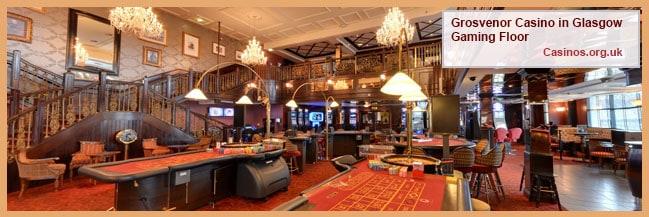 Grosvenor Casino Riverboat in Glasgow Gaming Floor